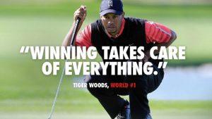 Nike Sponsors Tiger Woods