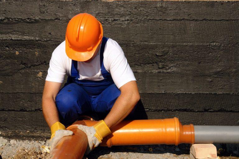 professional fixing sewage system