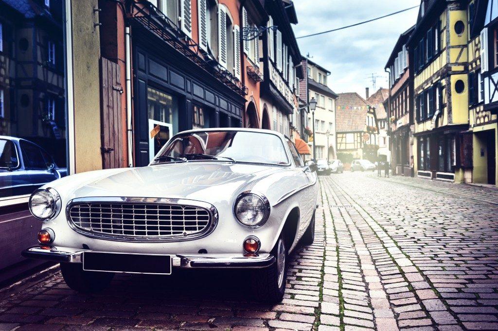 restored classic car