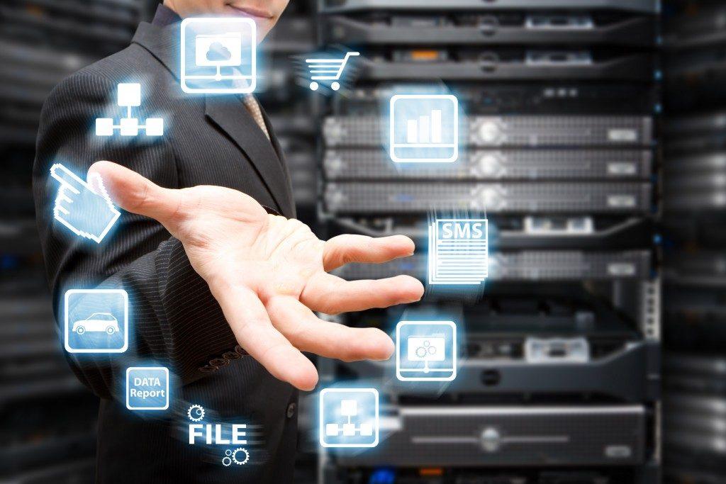 Company data concept