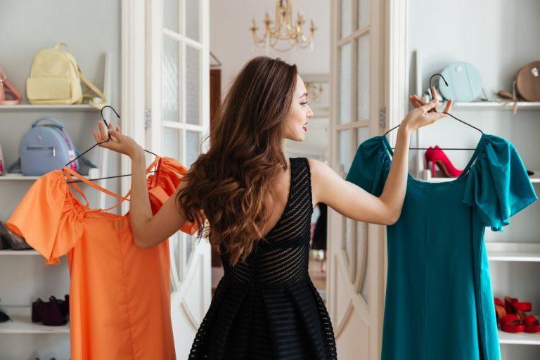 Choosing a dress